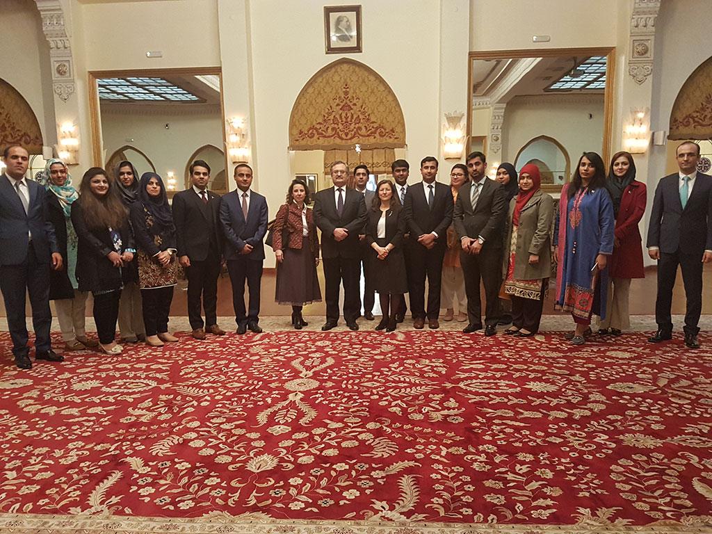 Trainig Program for the Pakistani Diplomats / Diplomacy